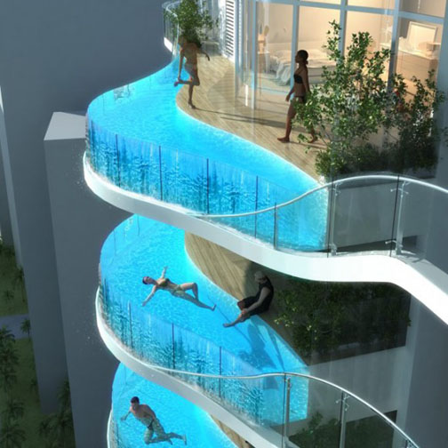 SWIMMING POOLS IN THE SKY – AN IMAGINATIVE IDEA FROM ...