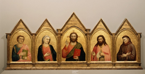 The Peruzzi Altarpiece by Giotto di Bondone and Assistants