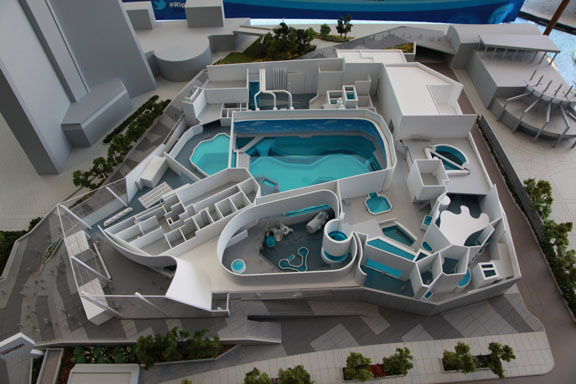 Toronto S New Aquarium 1 5 Million Gallons Of Water And