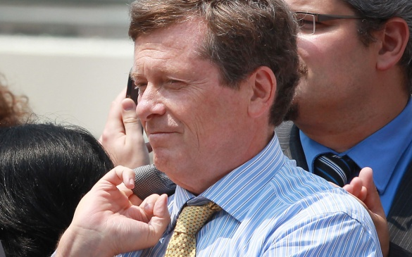 John Tory At Pride Week Event