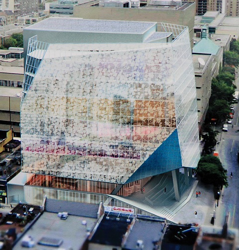 RYERSON'S NEW STUDENT LEARNING CENTRE STANDS OUT AMONG ...