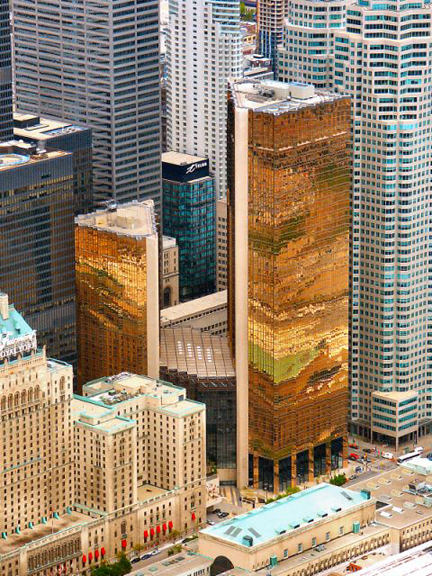 The Royal Bank Of Canada S Corrugated Golden Towers Have