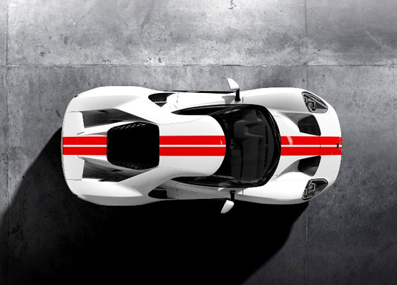 The Ford Motor Company In Markham Has Just Premiered The First Roadworthy Gt Supercar It Rolled Off The Assembly Line On Friday Designed By Americans And