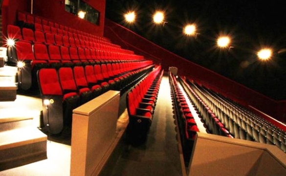 3dcbb59abf1 CINESPHERE opened in 1971 as one of the world s most advanced theatres.  Seating 752